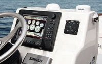 Lenco Autoglide Installed next to Simrad NSE12