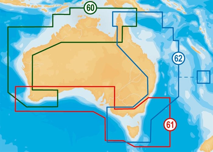 Navionics Platinum XL3 Zones - Click here for full details