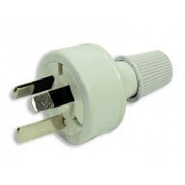 Rewireable 240VAC 10 Amp 3 pin Power Plug