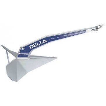 Lewmar Delta Self-Launching Anchors - 16kg - 12.2m (40ft)