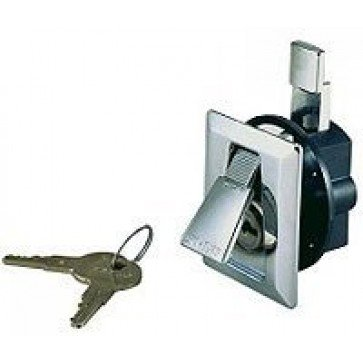 <p>Face: 56mmL x 50mmW, Door thickness: 12-19mm, Protrusion: 5mm, Intrusion: 23mm</p>