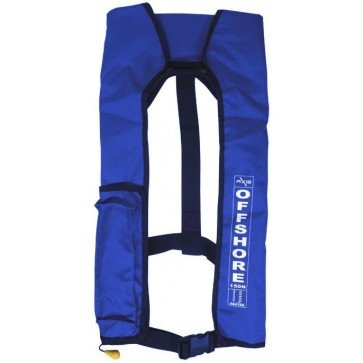 Axis Offshore Manual Inflate Blue PFD
