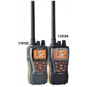 67mmW x 121mmH x 53mmD (without antenna)Weight 262g (inc. lithium-ion battery)