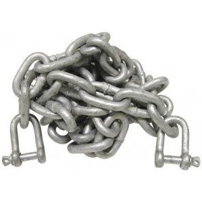 Anchor Chain with Shackles - 8mm x 3m