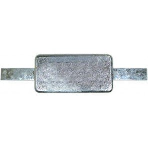 Block Anodes with Straps