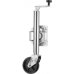 Jockey Wheel - Solid Wheel Swing Away