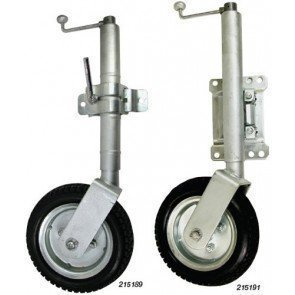 Length - 700mm retracted, 940mm extended Wheel 250mmDia