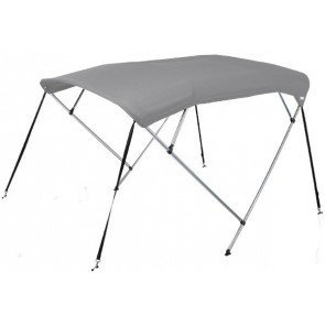 Oceansouth 4 Bow Bimini Top - Mounting Width: 1.9-2.1m - Canopy 1.8m - Grey
