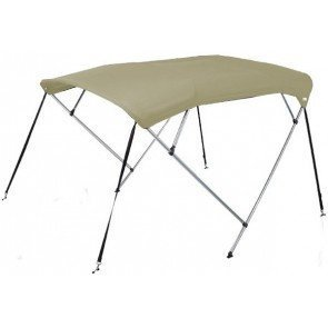 Oceansouth 4 Bow Bimini Top - Mounting Width: 1.7-1.9m - Canopy 1.6m - Sand