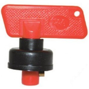 Battery Isolater Switch Key with Cap