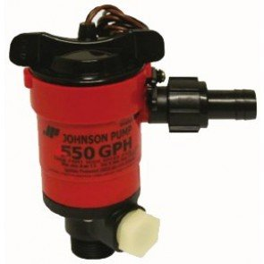 Livewell Aerator Pumps - 750 GPH - 90 degree