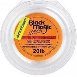 Black Magic Tough Fluorocarbon Leader