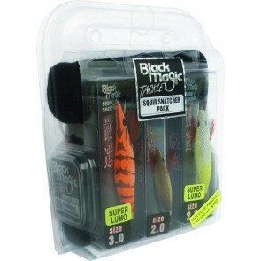 Black Magic Squid Jig Gift Pack