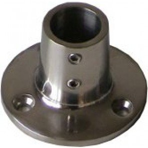 90° Stainless Steel Round Bases