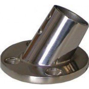 60° Stainless Steel Round Bases
