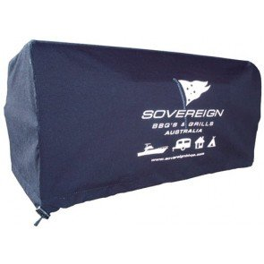 Sovereign BBQ Accessory - Bravo BBQ Cover - Navy