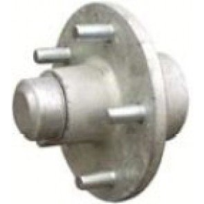 "Dunbier Wheel Hub With Standard Flange - 7/16"" Stud"