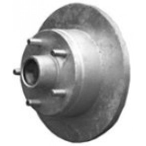 Dunbier Galvanised Disc Brake Wheel Hub